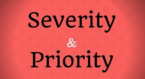 Severity Vs Priority
